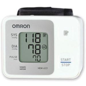 Máy đo huyết áp cổ tay Omron HEM 6121